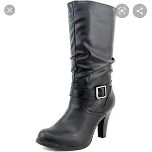 Arizona Jean Company Slouchy Boots with Buckles
